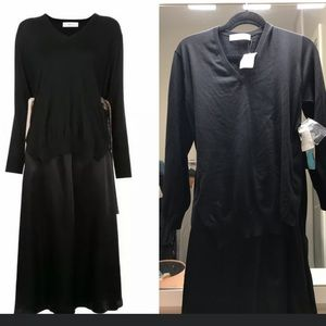 NWT Toga Archives Dress Mixed Knit Layered